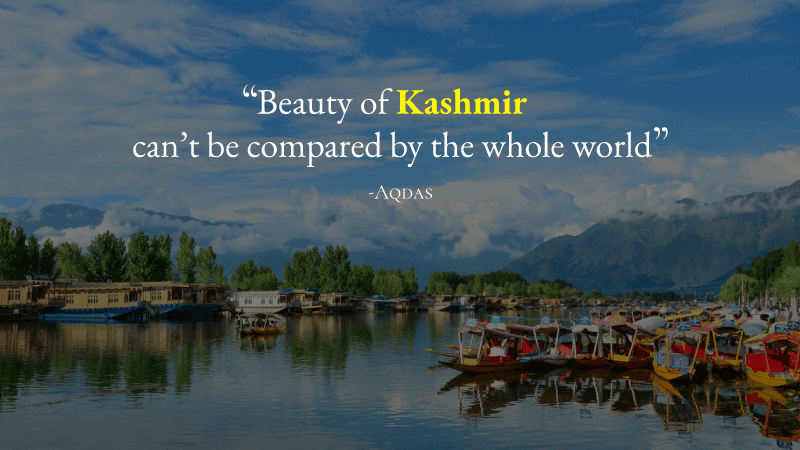 Explore The Beauty Of Kashmir This Vacation